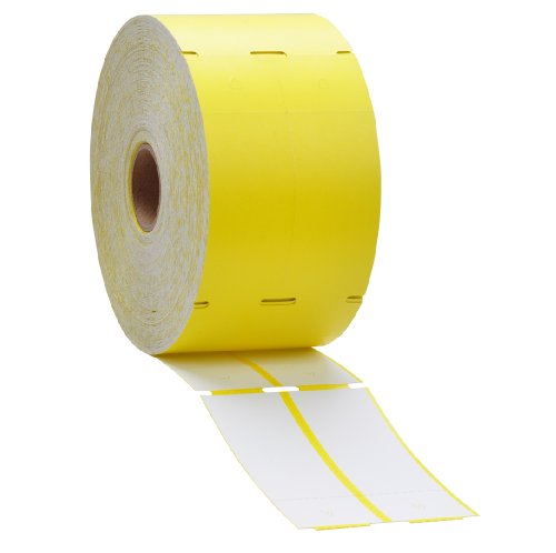 Yellow Direct Thermal Consignment Style Tags (Thermal Consignment Tags compare prices)