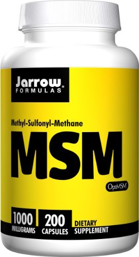 Jarrow Formulas MSM Sulfur, 1000mg (800 Capsules) by Jarrow Formulas