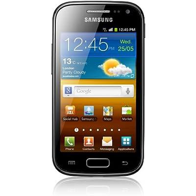 Samsung Galaxy Ace GT-I8160 4GB Black smartphones  Dual SIM  Android  EDGE  GPRS  GSM  HSPA  bar  3G