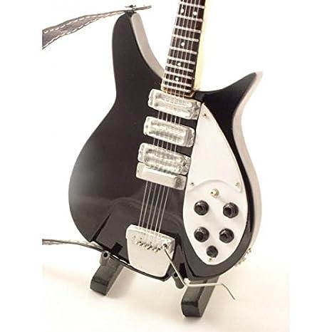 Mini guitarra de colección - Replica mini guitar - The Beatles - John Lennon: Amazon.es: Instrumentos musicales