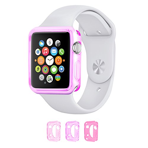 Price comparison product image Case cover bundle for Apple Watch - MV (38mm Apple Watch 1 - 3 pack: Women) - Only for Apple Watch Series 1