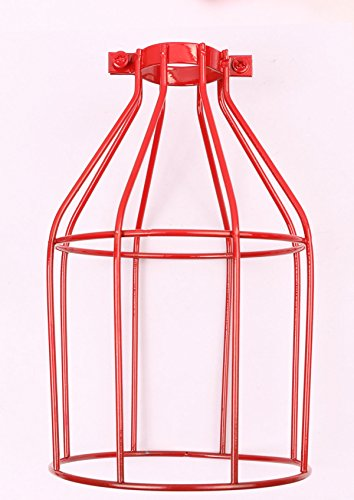 Mini Skater Vintage Open Style Bird Cage Metal Lamp Bulb ...