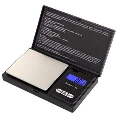 RanDal Balanza Electrónica Portátil De Precisión - Negro 300G / 0.01G: Amazon.es: Bricolaje y herramientas