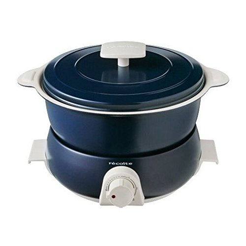 Recolte Pot Duo fête Electric pot Multi Cooker (Navy)