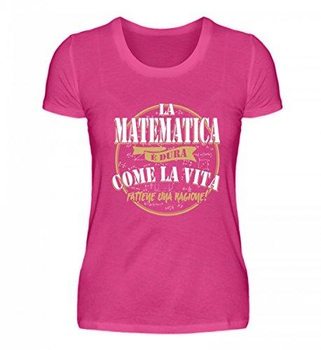 Vita Matematica Alta La Come Donna la di Camicia Premium qualit pftPtq1x