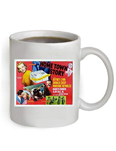 Home Town Story Movie Poster Coffee Mug By Ariel's Collection #A319