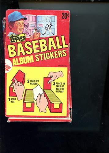 1982 Topps Baseball Album Stickers Set Wax Pack Box READ DESCRIPTION - Topps 1982 Baseball Sticker
