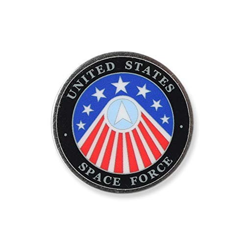 WIZARDPINS Made in America United States Space Force Printed Lapel Pin- 1 Pin