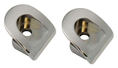 Chrome Billet Interior Door - Pirate Mfg MU0056SC 2005-09 Mustang Chrome Billet Interior Door Lock Pocket, PR
