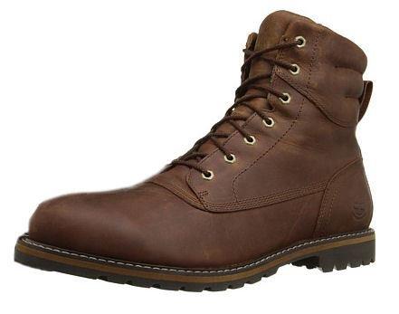 (Timberland Men's Chestnut Ridge Plain Toe WP Boot, Dark Brown Full Grain, 8 M US)