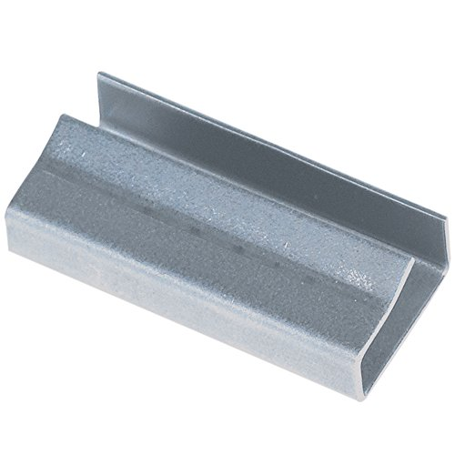 Boxes Fast BFPS5810SEAL Poly Strapping Seals, Load Capacity, 0.625'' Length, width, Thick, Silver (Pack of 1000) by Boxes Fast