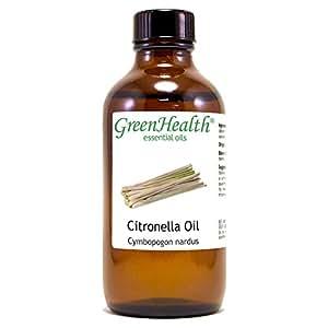 Citronella Oil -100% Pure Therapeutic Grade Essential Oil- 4 oz