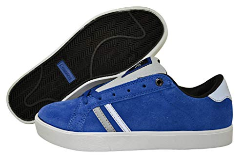 Emerica THE LEO 6102000065, Sneaker uomo Blau (Blue/Grey 640)