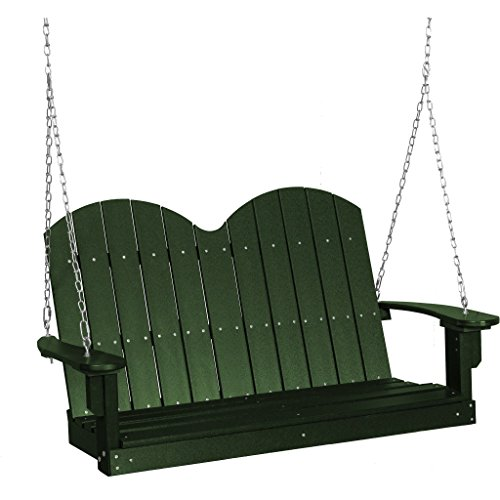 Wildridge Recycled Plastic Classic Savannah 4ft Porch Swing