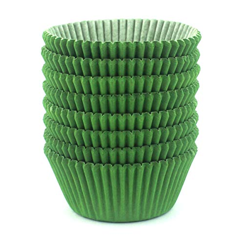 Eoonfirst Standard Size Baking Cups 200 Pcs (Green) -