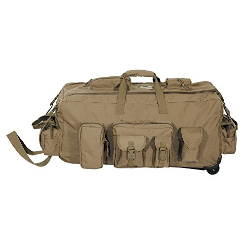 VooDoo Tactical Men's Mojo Load-Out Bag On Wheels, Coyote
