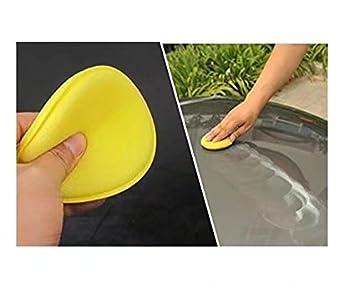 Tampon applicateur en mousse pour polissage /à la cire nettoyage voiture verre vitre lot de 12