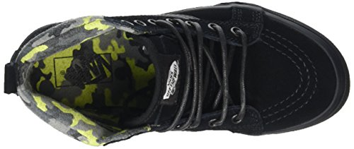 Vans Unisex Kids' Sk8-Hi MTE Hi-Top Sneakers Black (Mte Black/Lime) yJrb2fs