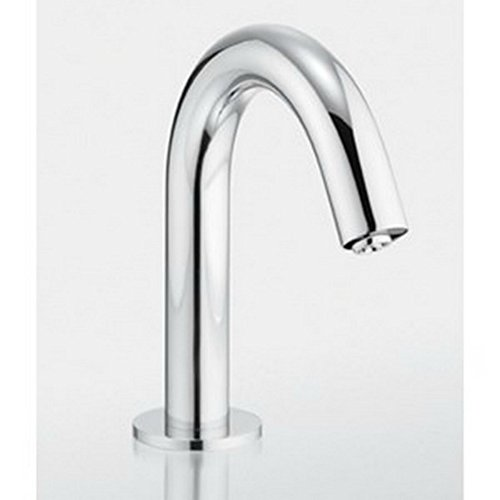 Hole Atrio Vessel Single - Toto Helix Toto Ecofaucet Polished Chrome Bathroom Faucet
