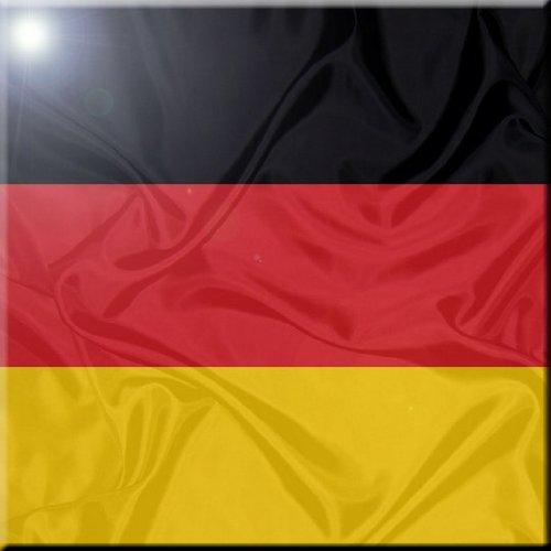 12 x 12 Rikki Knight Germany Flag Design Ceramic Art Tile