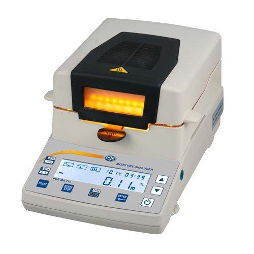 PCE Instruments Feuchtebestimmer PCE-MA 100 Wä gebereich: 110 g/Ablesbarkeit: 1 mg/0, 001 g PCE Deutschland GmbH