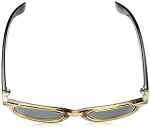 Coyote Eyewear Nomad Polarized Classic Sunglasses, Honey Brown/Black/G