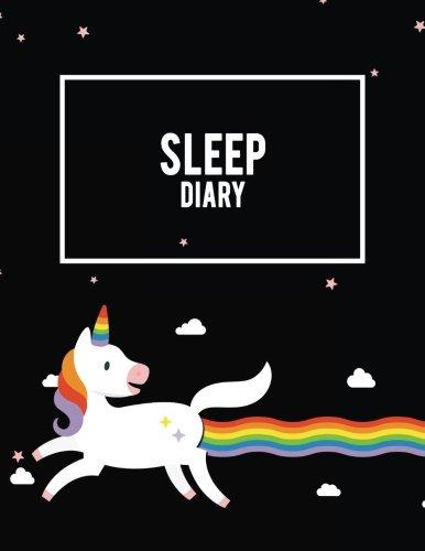 Sleep Diary: Unicorn, Monitor Healthy Sleep Habits And Insomnia Large Print 8.5