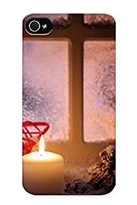 High Quality A2f00fc6995 Christmas Tpu Case For Iphone 4/4s