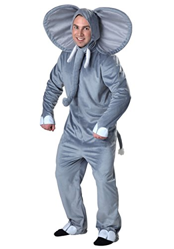 Plus Size Happy Elephant Costume (Elephant Costume For Adults)