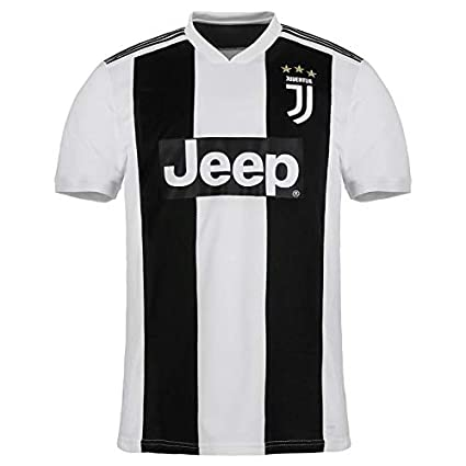 online store 1c9f6 bc55c Imported Juventus Home Replica 2018-2019 Jersey kit for Adults - Men & Boys  T Shirt and Shorts Jersey Set with All Logos in Place.