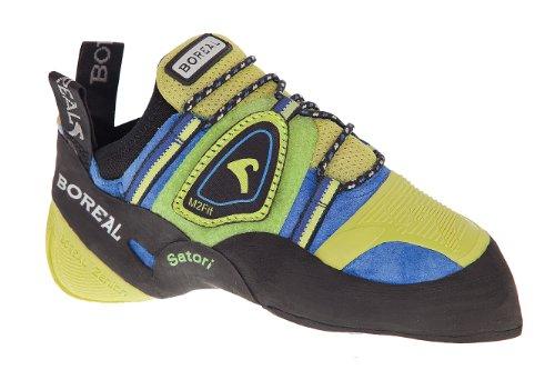 Boreal , Baskets pour homme bleu/vert - - negro/amarillo/azul/verde, 5.5 EU