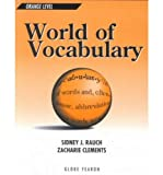 World of Vocabulary, Sidney Rauch, Alfred Weinstein, 0835912949