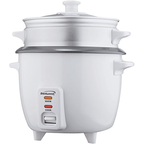 BRENTWOOD TS-480S Rice Cooker with Steamer