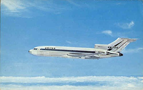 Unites air Lines Boeing 727 Aircraft Original Vintage - Boeing Aircraft 727