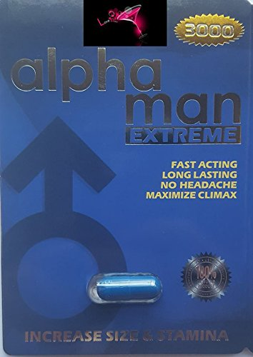 Extreme Leave - Alpha Man EXTREME 3000 7 DAYS FOR A NIGHT YOU'LL NEVER FORGET AND WILL LEAVE YOUR PARTNER BEGGING FOR MORE PLUS LOVE POTION EXCLUSIVE PEN (24)