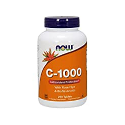Now Supplements, Vitamin C-1000, 250 Tab...