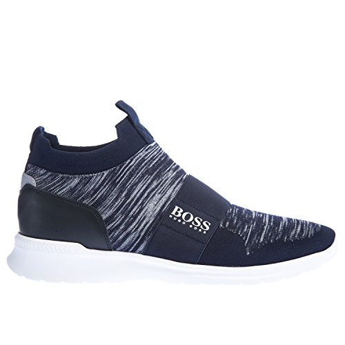 BOSS Green Extreme Slip On Knit Trainers Blue Dark Blue clearance for nice JqFFyVwRHz