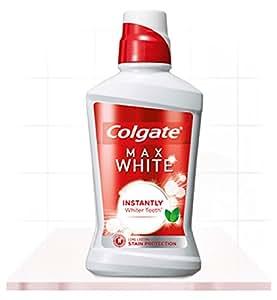 Colgate - Plax whitening mundspülung/ mundwasser gegen bakterieun und zahnbelag/ beugt zahnverfärbung vor / 500ml