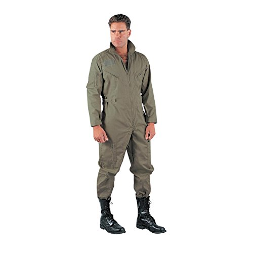 Rothco Flight Coverall - Khaki, X-Large