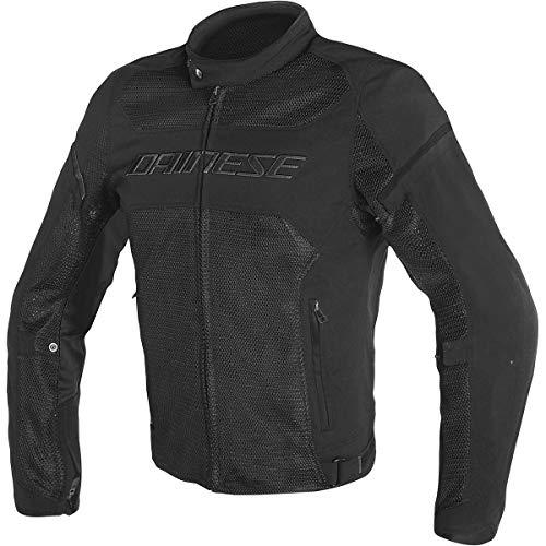 Dainese Air Frame D1 Tex Men's Street Motorcycle Jackets - Black/Black/Black / 50