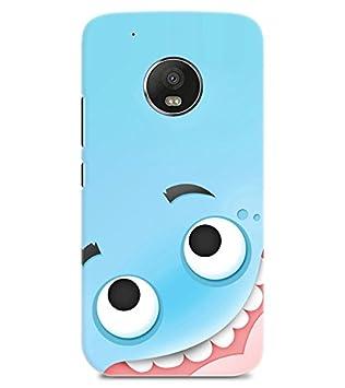 Chiraiyaa Designer Printed Premium Back Cover Case for MOTO G5 PLUS  smiley big   Multicolor  Mobiles   Accessories