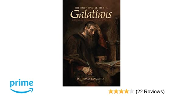 THE HOLY EPISTLE TO THE GALATIANS PDF DOWNLOAD