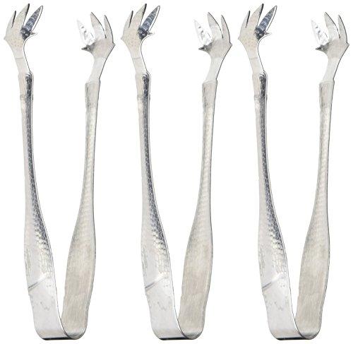 Stainless Steel Food Tongs (Silver) - 8