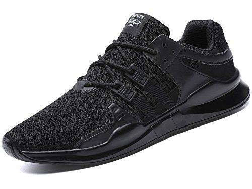 (ヤツル) ランニング シューズ 通気 軽量 ジョギング マラソン シューズ スポーツ スニーカー メンズ