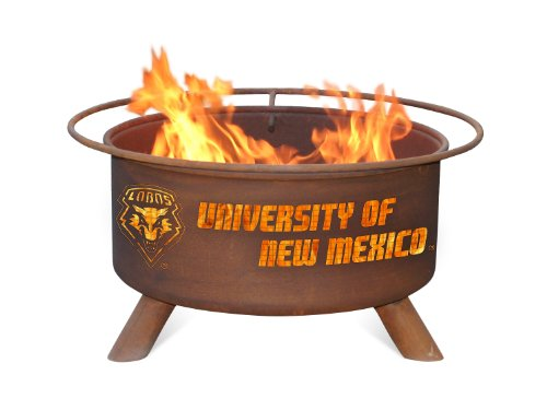 Patina F435 University of New Mexico Fire Pit