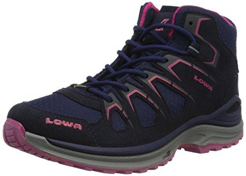 Lowa Innox Evo GTX Qc WS, Chaussures de Randonnée Basses Femme Multicolore (Navy/Fuxsia 6918)