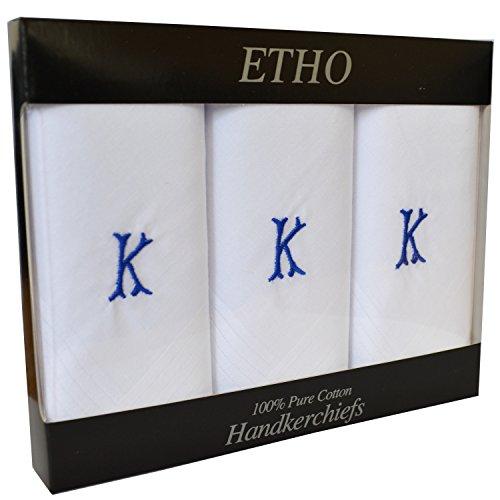 Letra Pa Para uelos De Blanco 3 En Paquete Hombre Nombre K Con 1 wzqUSnC