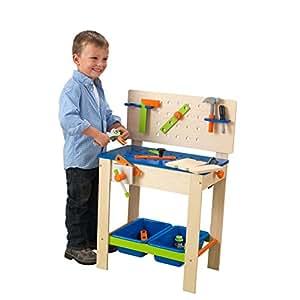 Amazon.com: Deluxe – Banco de trabajo con herramientas ...