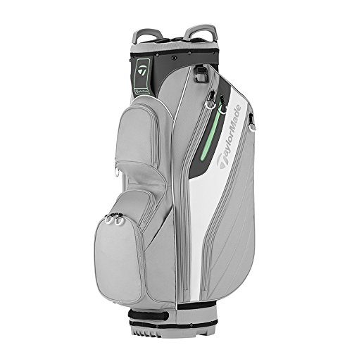 TaylorMade Cart Lite Ladies Bag (Light Gray/White) (Light Gray/White)