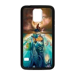 Ariel Little Mermaid Pattern Image Case Cover Hard Plastic Case for Samsung Galaxy S5 i9600 Regular